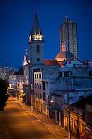 Igreja de São Sebastião situada em frente a praça de São Sebastião. Manaus/2011. Foto: Ana Mokarzel