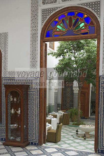 Afrique/Afrique du Nord/Maroc/Fèz: Riad Dar Andaluz
