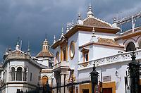 Spanien, Andalusien, Stierkampfarena in Sevilla