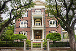 The Calhoun Mansion on Meeting Street, near the Battery, in Charleston, SC