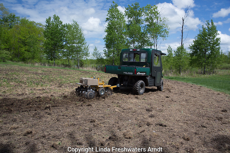 Creating a food plot for wildlife