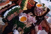 Daenemark, Kopenhagen, Smoerrebroed im Frokostlokal  Ida Davidsen