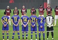 Milano  05-12-2020<br /> Stadio Giuseppe Meazza<br /> Campionato Serie A Tim 2020/21<br /> Milan - parma<br /> nella foto:     Raccoglimento                                                     <br /> Antonio Saia Kines Milano