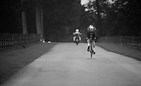 the race is on for Luke Mellor (GBR)<br /> <br /> Tour of Britain<br /> stage 3: ITT Knowsley Safari Park (16.1km)