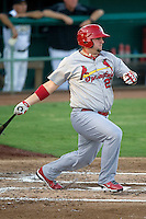 Springfield Cardinals first baseman Matt Adams #29 swings during the Texas League All Star Game played on June 29, 2011 at Nelson Wolff Stadium in San Antonio, Texas. The South All Star team defeated the North All Star team 3-2. (Andrew Woolley / Four Seam Images)