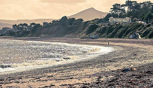 Killiney Beach in south Co Dublin