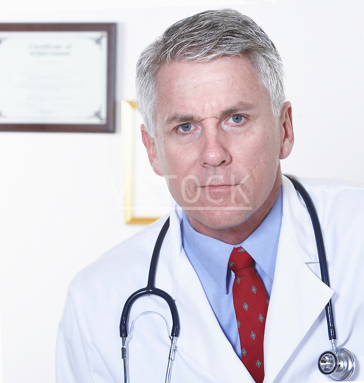 USA, California, Fairfax, Portrait of male doctor