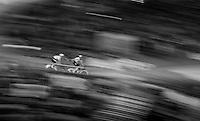 highspeed handsling by Elia Viviani (ITA/SKY) &  Iljo Keisse (BEL/Etixx-QuickStep) <br /> <br /> 2016 Gent 6<br /> day 6