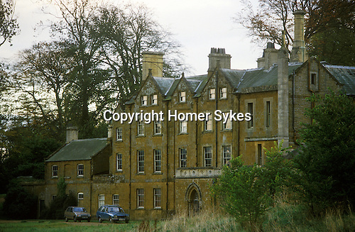 Great Tew Jacobean Manor House Oxfordshire 1986