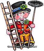 NY, paintings+++++,KL4611/2,#ny#, EVERYDAY ,sticker,stickers, new year's eve ,chimney sweeper