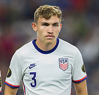 DALLAS, TX - JULY 25: Sam Vines #6 of the United States during a game between Jamaica and USMNT at AT&T Stadium on July 25, 2021 in Dallas, Texas.