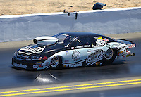Jul. 28, 2013; Sonoma, CA, USA: NHRA pro stock driver Vincent Nobile during the Sonoma Nationals at Sonoma Raceway. Mandatory Credit: Mark J. Rebilas-