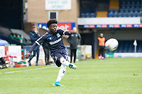 Terrell Egbri, Southend United puts in a cross during Southend United vs Exeter City, Sky Bet EFL League 2 Football at Roots Hall on 10th October 2020