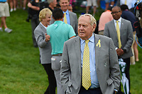 6th June 2021; Dublin, Ohio, USA; Jack Nicklaus looks on from the edge of the green on 18 during the Memorial Tournament final round at Muirfield Village Golf Club