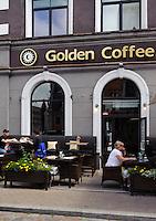 Café in Riga, Lettland, Europa
