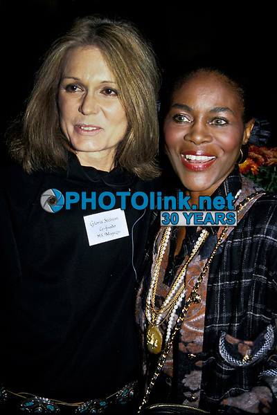 Gloria Steinem Cicely Tyson 1991 Photo by Adam Scull-PHOTOlink.net
