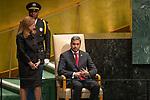 DSG meeting<br /> <br /> AM Plenary General DebateHis<br /> <br /> <br /> His Excellency Mario Abdo Benitez, President, Republic of Paraguay