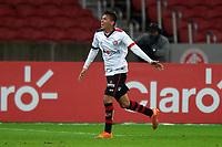 10th June 2021; Beira-Rio Stadium, Porto Alegre, Brazil; Copa do Brazil, Internacional versus Vitoria; Guilherme Santos of Vitória celebrates his goal in the 85th minute for 1-3