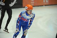 SPEEDSKATING: DORDRECHT: 05-03-2021, ISU World Short Track Speedskating Championships, QF 1500m Men, Semen Elistratov (RSU), ©photo Martin de Jong