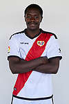 Giannelli Imbula during his Official presentation as new player of Rayo Vallecano at Ciudad Deportiva Rayo Vallecano in Madrid, Spain. September 11, 2018. (ALTERPHOTOS/A. Perez Meca)