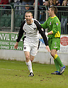 21/04/2007       Copyright Pic: James Stewart.File Name : sct_jspa11_gretna_v_clyde.COLIN MCMENAMIN CELEBRATES SCORING BUT HIS GOAL WAS DISALLOWED FOR HAND BALL........James Stewart Photo Agency 19 Carronlea Drive, Falkirk. FK2 8DN      Vat Reg No. 607 6932 25.Office     : +44 (0)1324 570906     .Mobile   : +44 (0)7721 416997.Fax         : +44 (0)1324 570906.E-mail  :  jim@jspa.co.uk.If you require further information then contact Jim Stewart on any of the numbers above.........