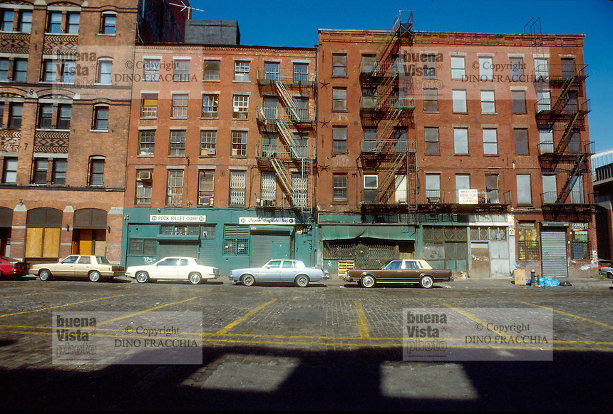 - New York, buildings in Lower East Side....- New York, palazzi nella Lower East Side..