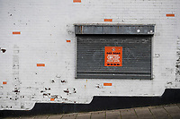 9th January 2021; Kenilworth Road, Luton, Bedfordshire, England; English FA Cup Football, Luton Town versus Reading; The club shop closed for business due to the pandemic.