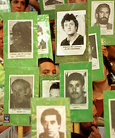 Basque prisoners pictures in Bilbao.<br /> Argazkia: Ander Gillenea
