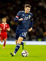 4th September 2021; Hampden Park, Glasgow, Scotland: FIFA World Cup 2022 qualification football, Scotland versus Moldova: Kevin Nisbet of Scotland