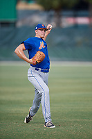 GCL Mets pitcher Joshua Walker (96) during practice before a game against the GCL Cardinals on July 23, 2017 at Roger Dean Stadium Complex in Jupiter, Florida.  GCL Cardinals defeated the GCL Mets 5-3.  (Mike Janes/Four Seam Images)