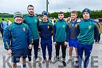 John Mitchells GAA players supporting the Kerrie Browne memorial 5K Walk and Run in Brosna on Sunday.  L to r: Clive O'Callaghan, Michael Wrenn, John Hayes, Jonathan O'Halloran, Cian Sheridan and Lawrence Bastible.