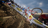 Ian Field (GBR)<br /> <br /> UCI Worldcup Heusden-Zolder Limburg 2013