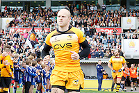 Photo: Richard Lane/Richard Lane Photography. Exeter Chiefs v London Wasps. Aviva Premiership. 14/09/2013. Wasps' Joe Simpson.