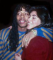 Rick James and Laura Branagan 1985<br /> Photo By John Barrett/PHOTOlink