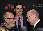 Larry Kramer, Matt Bomer and Mart Crowley attends the 'The Boys In The Band' 50th Anniversary Celebration at The Second Floor NYC on May 30, 2018 in New York City.