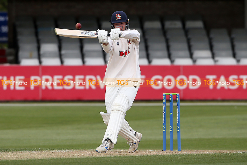 Tom Westley in batting action for Essex during Essex CCC vs Worcestershire CCC, LV Insurance County Championship Group 1 Cricket at The Cloudfm County Ground on 8th April 2021
