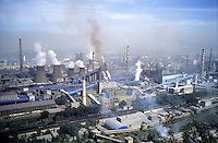 Benxi Iron and Steel Group in Liaoning. China's second-largest steelmaker Anshan Iron & Steel Group has merged with smaller rival Benxi Steel Group to create a company with capacity that will match the mainland's biggest steelmaker, Shanghai Baosteel Group..02 Sep 2005