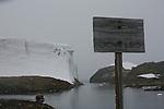 station de recherche Vernadsky (UkraineCroisière à bord du NordNorge. Péninsule Antarctique