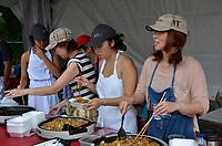 August 11 2012 - Montreal (Qc) Canada - Matsuri Japon Festival 11th edition.<br /> <br /> Matsuri Japon is a free event promoting Japanese culture to the general public. , stir fried noodles