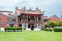George Town, Penang, Malaysia.  Cheah Kongsi, a Hokkien Clan Association Temple and Clan House.