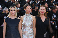 ELODIE BOUCHEZ, JULIETTE BINOCHE AND EMMANUELLE BERCOT - RED CARPET OF THE 70TH ANNIVERSARY CEREMONY AT THE 70TH FESTIVAL OF CANNES 2017