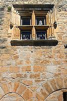 Fenetre a meneaux de la Maison de la Pommette (XVe sicle)