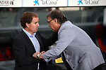 League BBVA 2013/2014 - Game: 06.<br /> 2013-09-24: FC Barcelona vs R. Sociedad: 4-1.<br /> Jagoba Arrasate & Tata Martino.