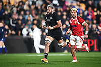 3rd July 2021, Auckland, New Zealand;  Patrick Tuipulotu.<br /> New Zealand All Blacks versus Tonga, Steinlager Series, international rugby union test match. Mt Smart Stadium, Auckland. New Zealand.