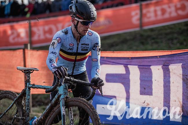 Eli Iserbyt (BEL/Marlux-Bingoal)<br /> <br /> <br /> Men U23 Race<br /> UCI CX Worlds 2018<br /> Valkenburg - The Netherlands