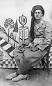 Iraq 1938 .Sheikh Marouf Barzinji, student in Kirkuk.Irak 1938.Sheikh Marouf Barzinji, etudiant a Kirkouk