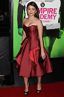 """LOS ANGELES, CA - FEBRUARY 04: Sarah Hyland at the Los Angeles Premiere Of The Weinstein Company's """"Vampire Academy"""" held at Regal Cinemas L.A. Live on February 4, 2014 in Los Angeles, California. (Photo by Xavier Collin/Celebrity Monitor)"""