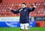 Aberdeen v St Johnstone…08.12.18…   Pittodrie    SPFL<br />A very happy Tony Watt celebrates with the fans at full time<br />Picture by Graeme Hart. <br />Copyright Perthshire Picture Agency<br />Tel: 01738 623350  Mobile: 07990 594431