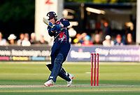 Jordan Cox hits out for Kent during Kent Spitfires vs Middlesex, Vitality Blast T20 Cricket at The Spitfire Ground on 11th June 2021