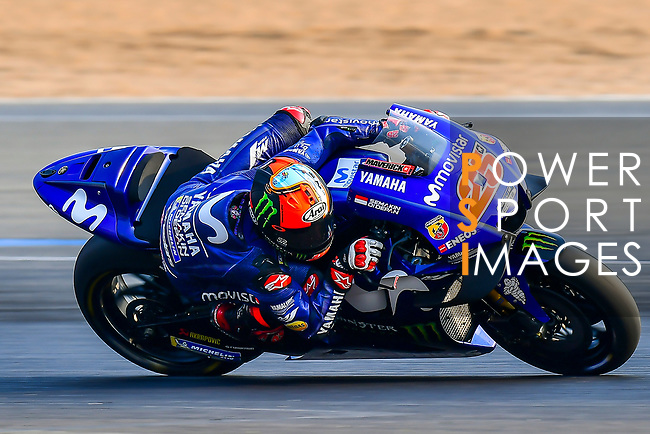 Movistar Yamaha MotoGP's rider Maverick Vinales of Spain rides during the MotoGP Official Test at Chang International Circuit on 18 February 2018, in Buriram, Thailand. Photo by Kaikungwon Duanjumroon / Power Sport Images